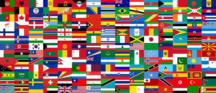 Idiomas y banderas