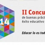 II Concurso de buenas prácticas para el éxito educativo