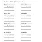 Sumas y restas de números decimales